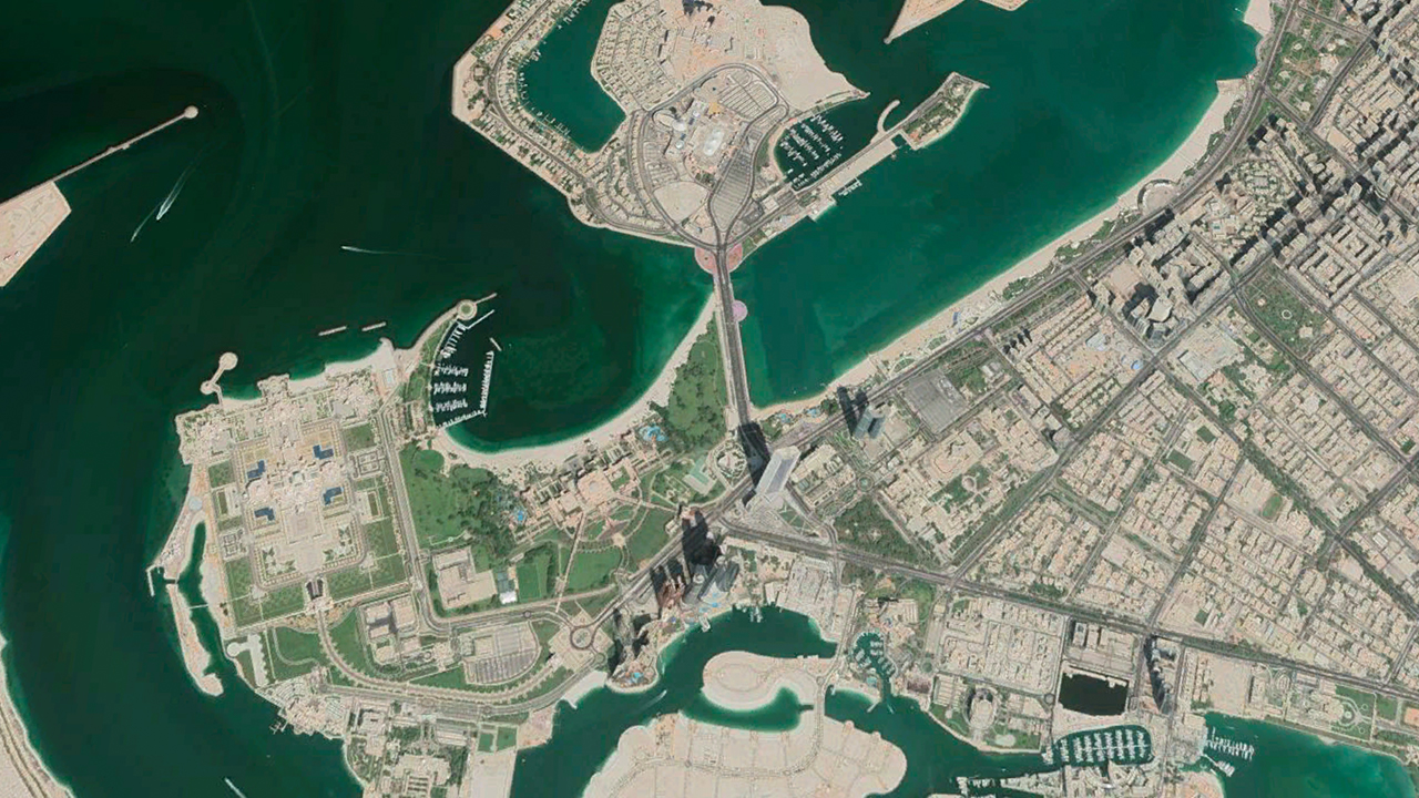 Coastal Change in the UAE