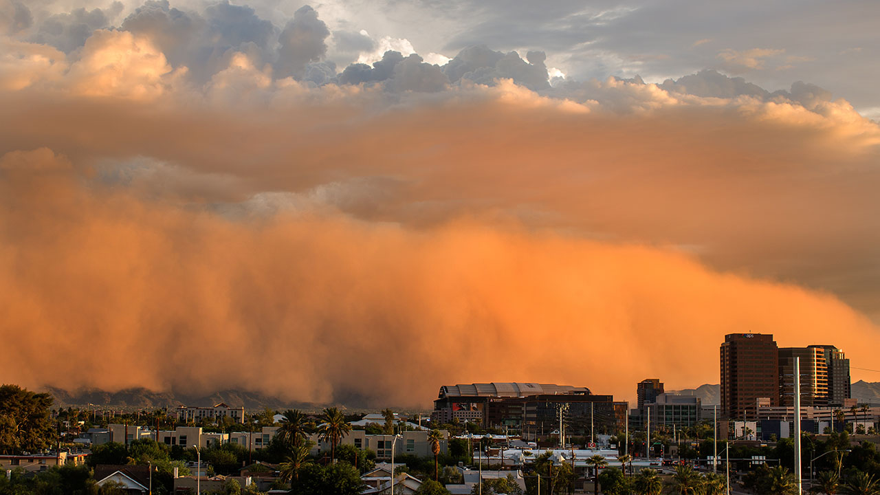 Dust Rising