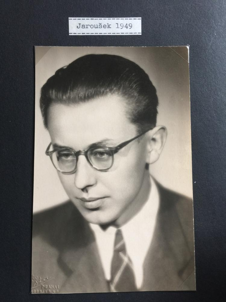 Český rozhlas: Archiv Jaroslava Janák : Jaroslav Janák v roce 1949