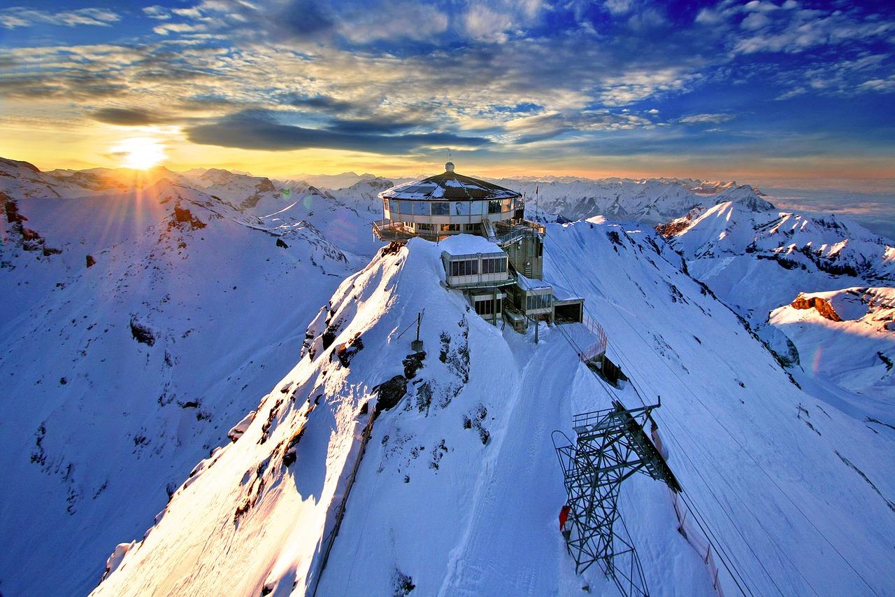 Ani v Alpách není vzduch bez škodlivých látek