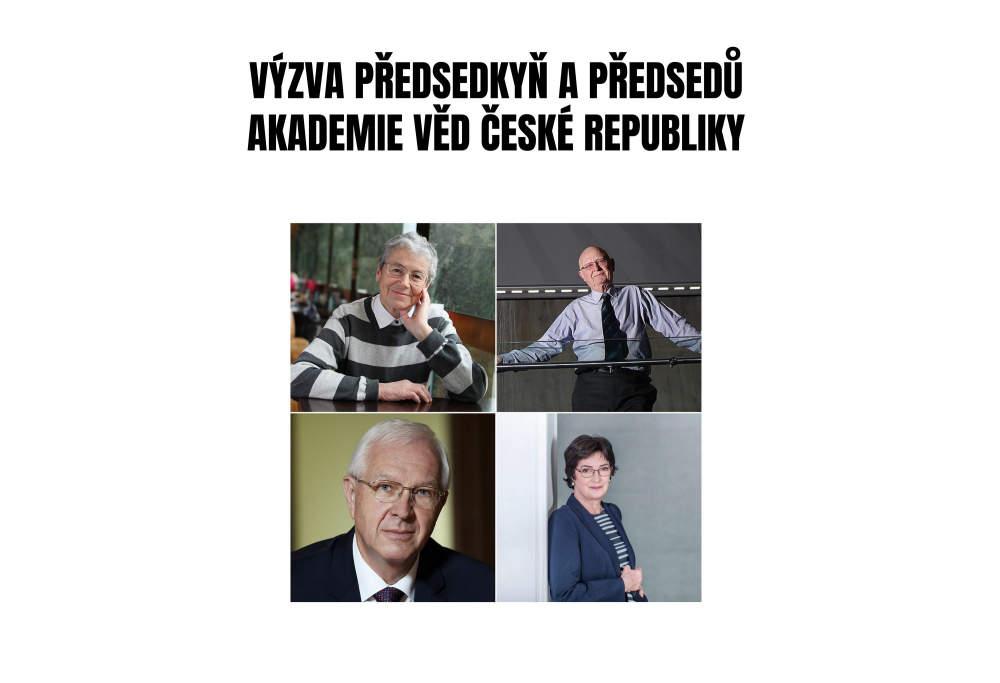 Představitelé Akademie věd ČR vyzývají k solidaritě během pandemie