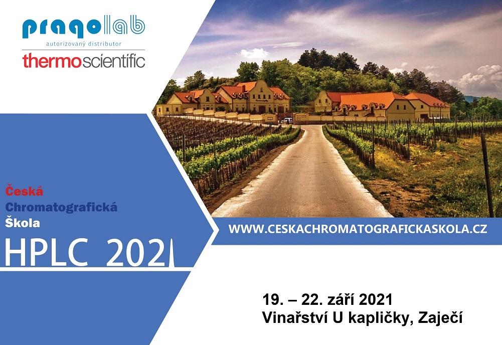 Česká chromatografická škola – HPLC.cz 2021