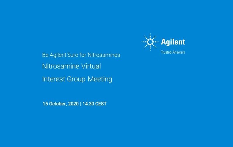HPST: Nitrosamine Virtual Interest Group Meeting