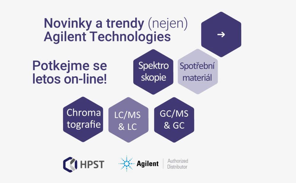 Novinky a trendy Agilent Technologies se pro letošní rok přesouvají do on-line světa. Co chystáme? 1. část