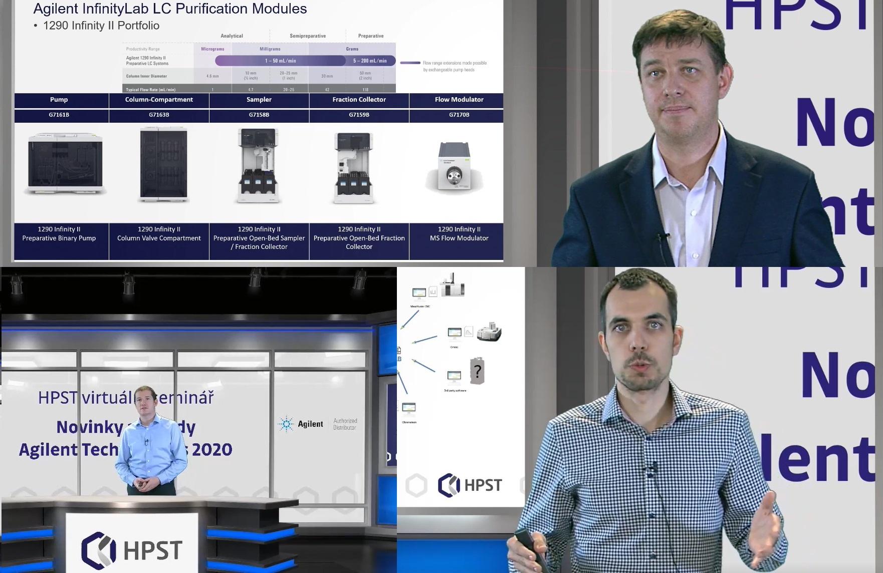 HPST: Tento týden běží ONLINE Novinky a trendy Agilent Technologies