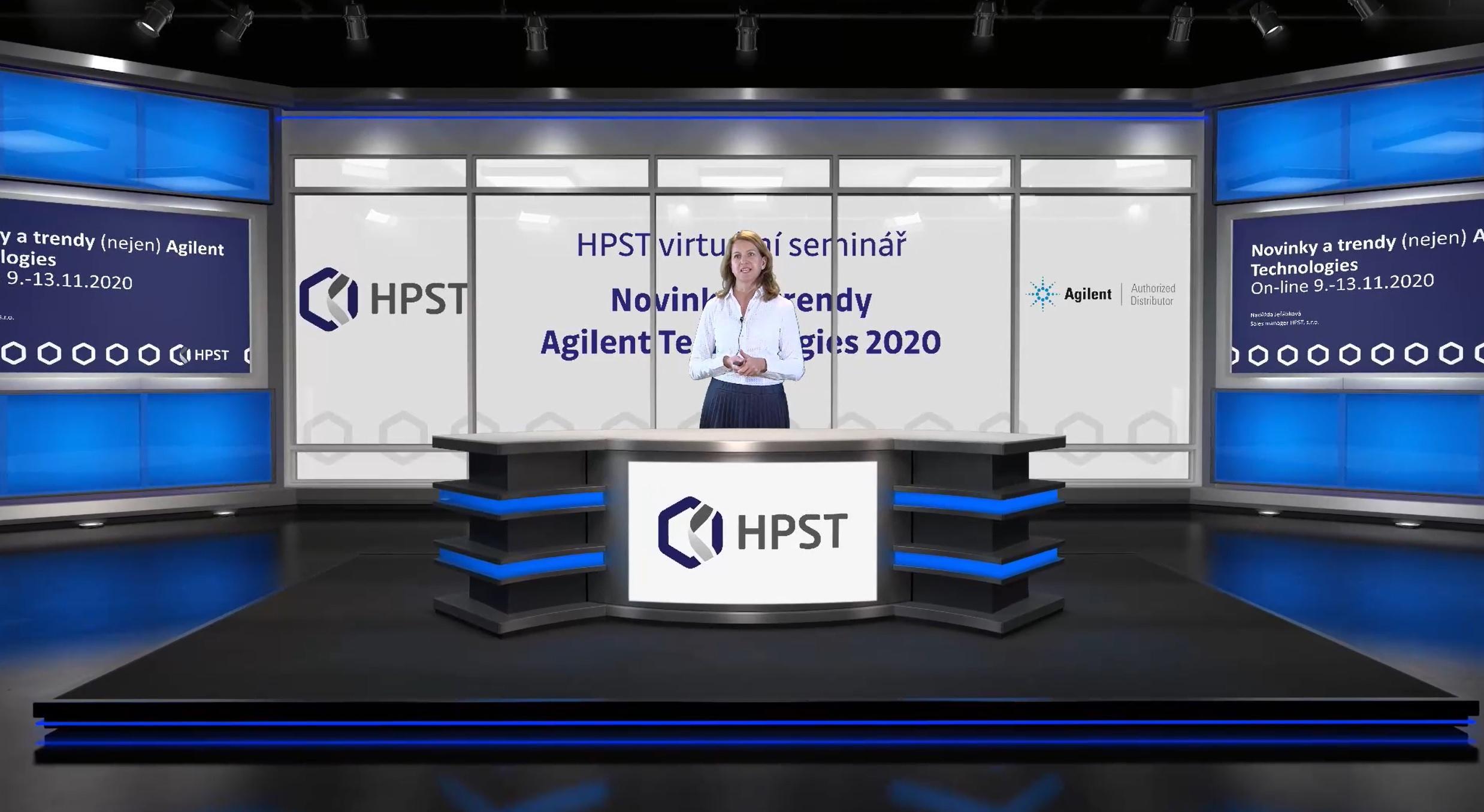 HPST: Novinky a trendy Agilent Technologies on-line