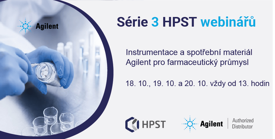 HPST: Instrumentace a spotřební materiál Agilent pro farmaceutický průmysl
