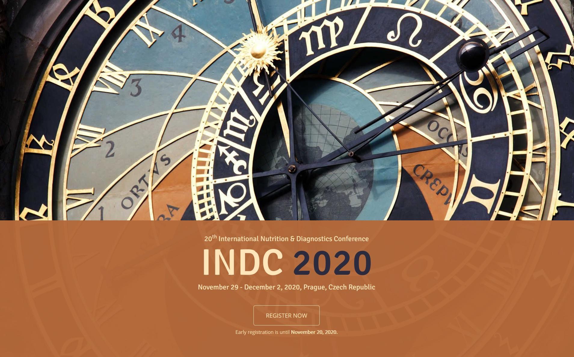 20th International Nutrition & Diagnostics Conference