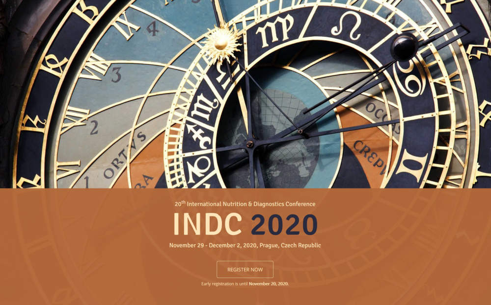 INDC 2020 - 20th International Nutrition & Diagnostics Conference