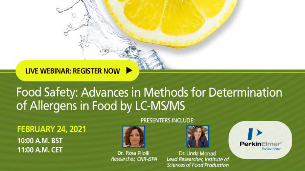 Food Safety: Advances in Methods for Determination of Allergens in food by LC-MS/MS
