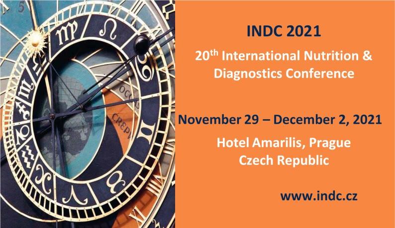 20th International Nutrition & Diagnostics Conference (2021)