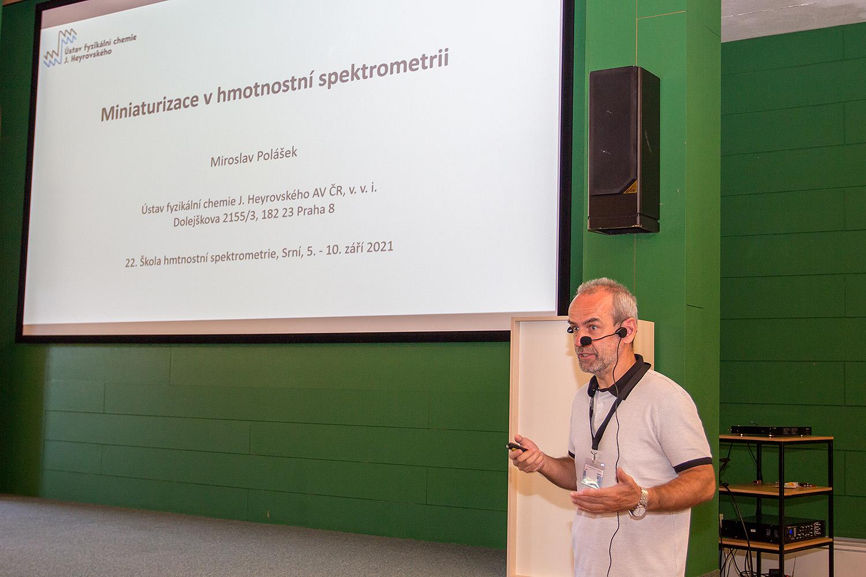 SSJMM: Miniaturizace v hmotnostní spektrometrii (M. Polášek)