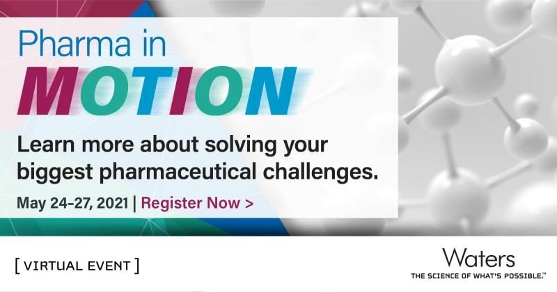 Waters Corporation: Farmacie v POHYBU - najděte řešení Vašich největších farmaceutických výzev