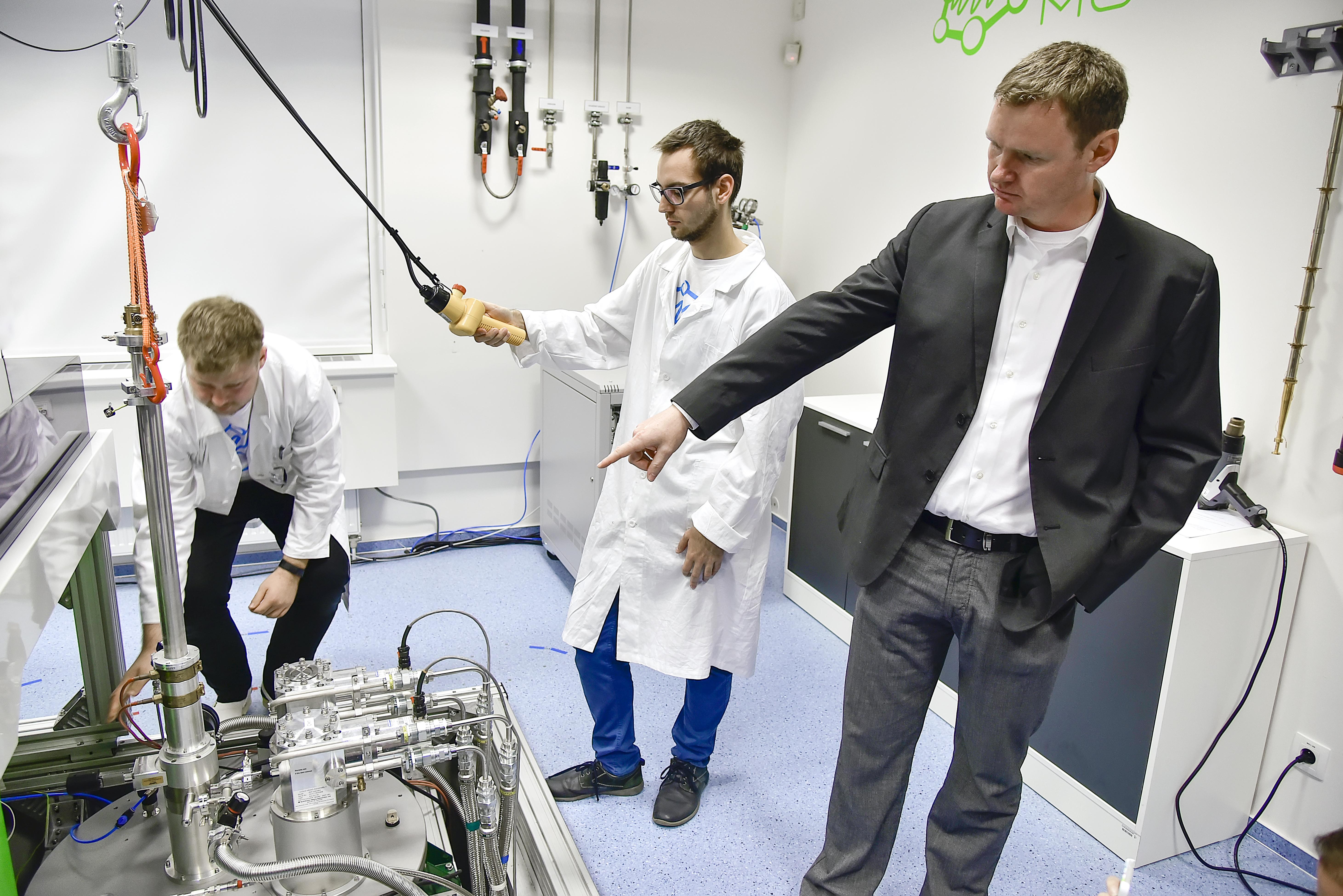 CEITEC/Igor Šefr: Petr Neugebauer Pokud chcete ERC grant, musíte přijít s něčím skutečně novým