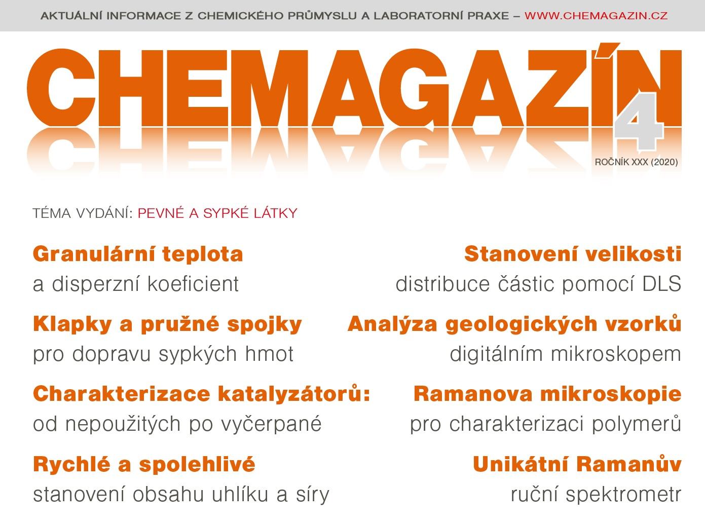 CHEMAGAZÍN 4 (XXX), 2020