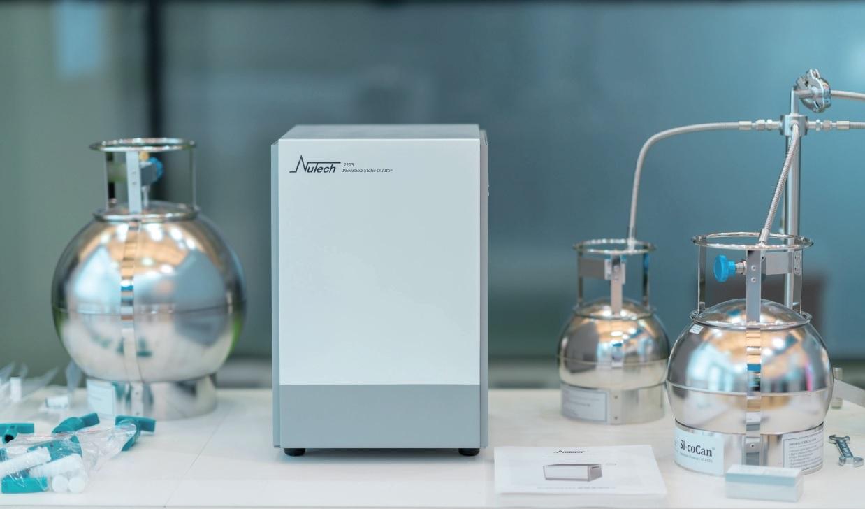 HPST/Produkty Nutech – komplexní řešení pro stanovení těkavých organických látek v ovzduší a plynech
