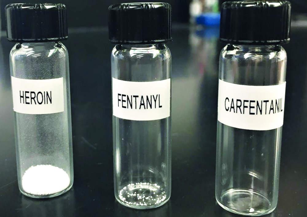 Smrtící bílý prášek fentanyl
