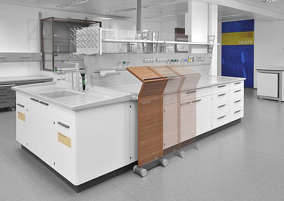 HPST: Laboratorní nábytek od německého výrobce WALDNER s názvem SCALA