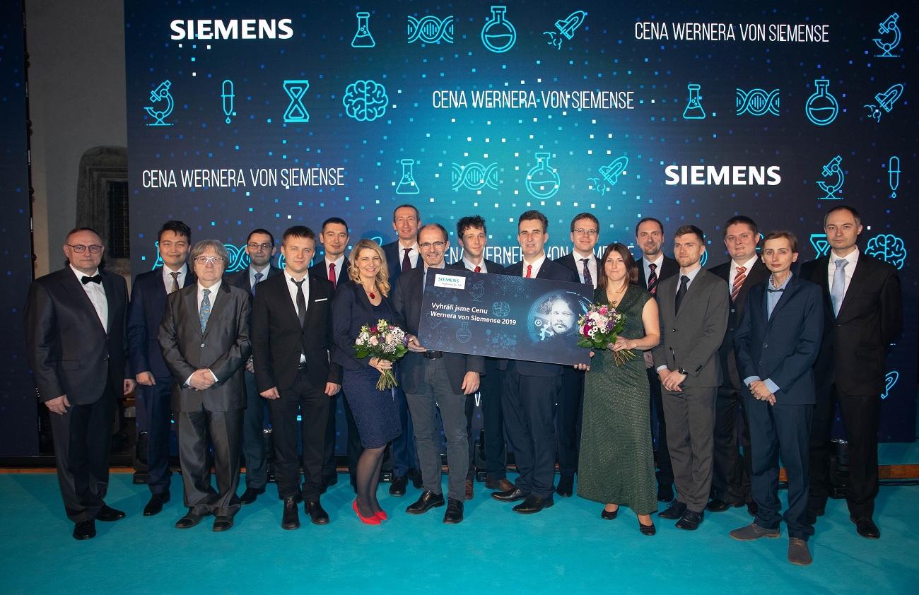 Vysoká škola chemicko-technologicka v Praze - Ceny Wernera von Siemense 2019