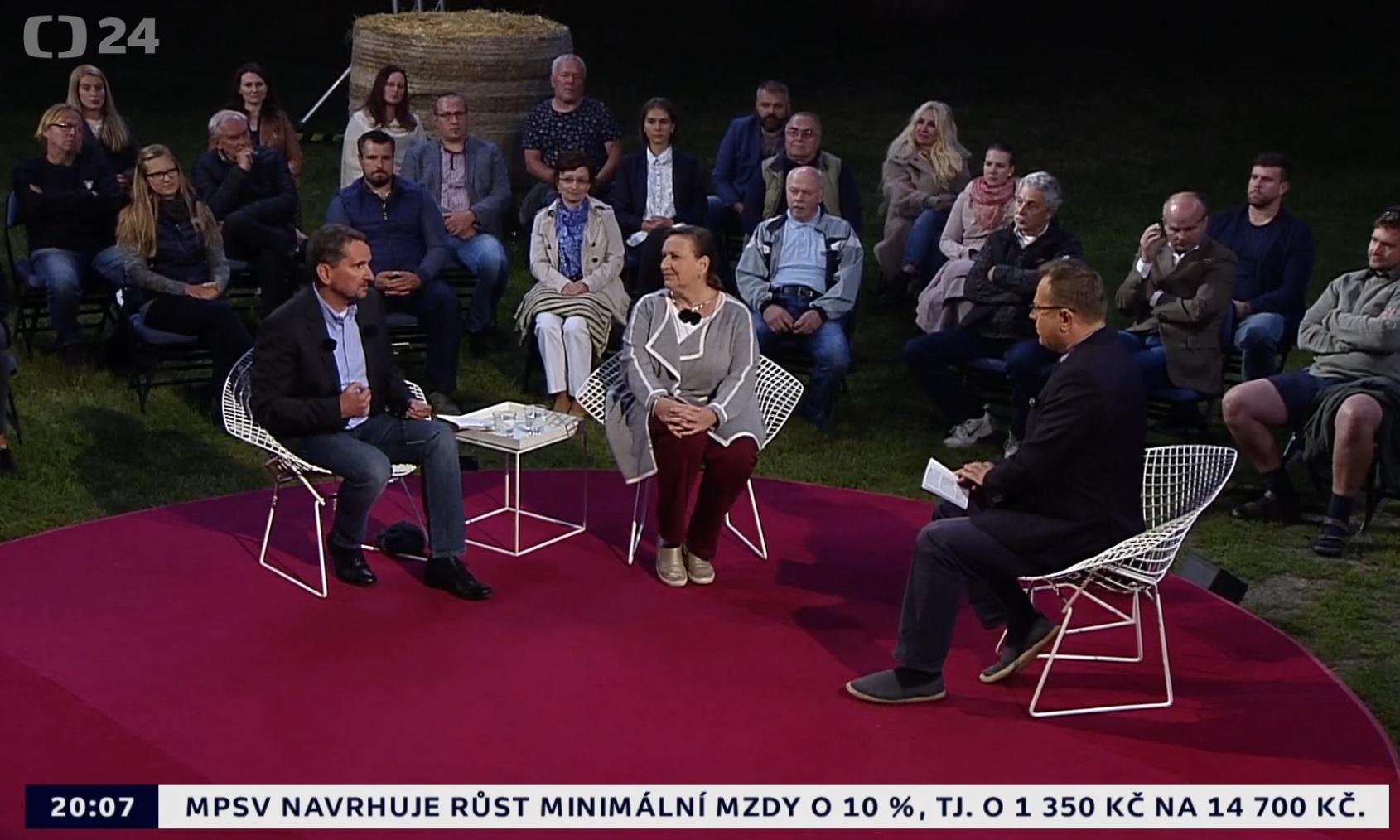 Česká televize: Fokus Václava Moravce - Moc jídla