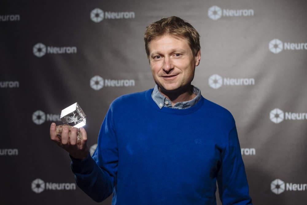 Laureát Ceny Neuron pro mladé vědce za rok 2016 - Petr Slavíček