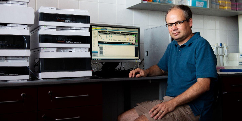 Masarykova univerzita, Jitka Janů, Magazín M, CC-BY: Pavel Bouchal působí v Ústavu biochemie Přírodovědecké fakulty MU.