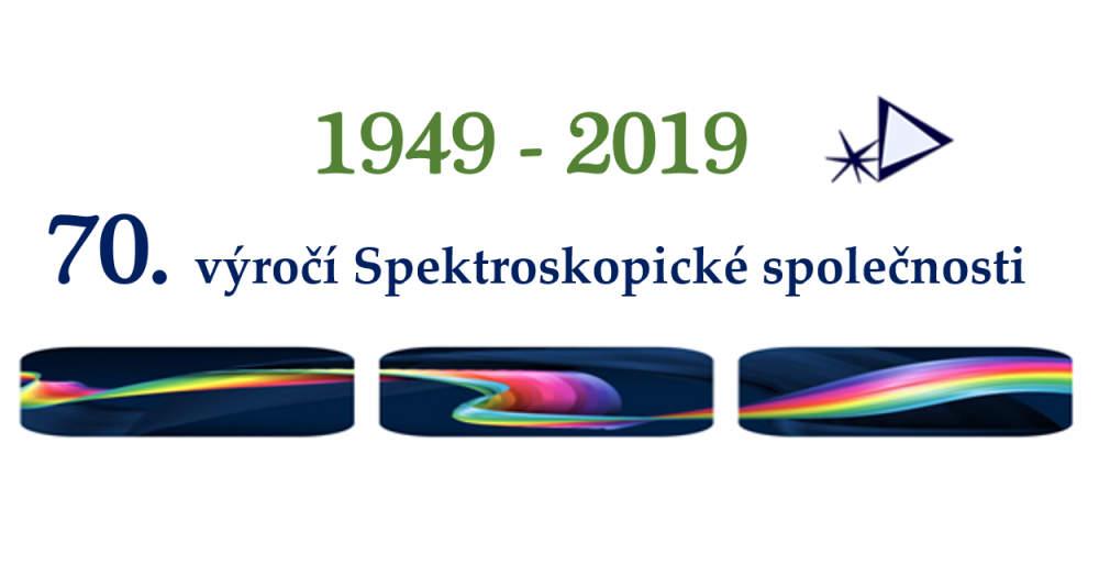70. výročí Spektroskopické společnosti