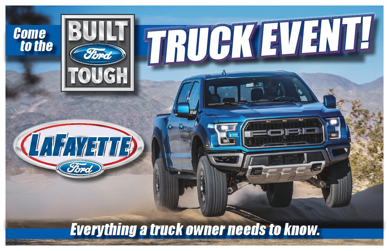 Built Ford Tough Truck Event