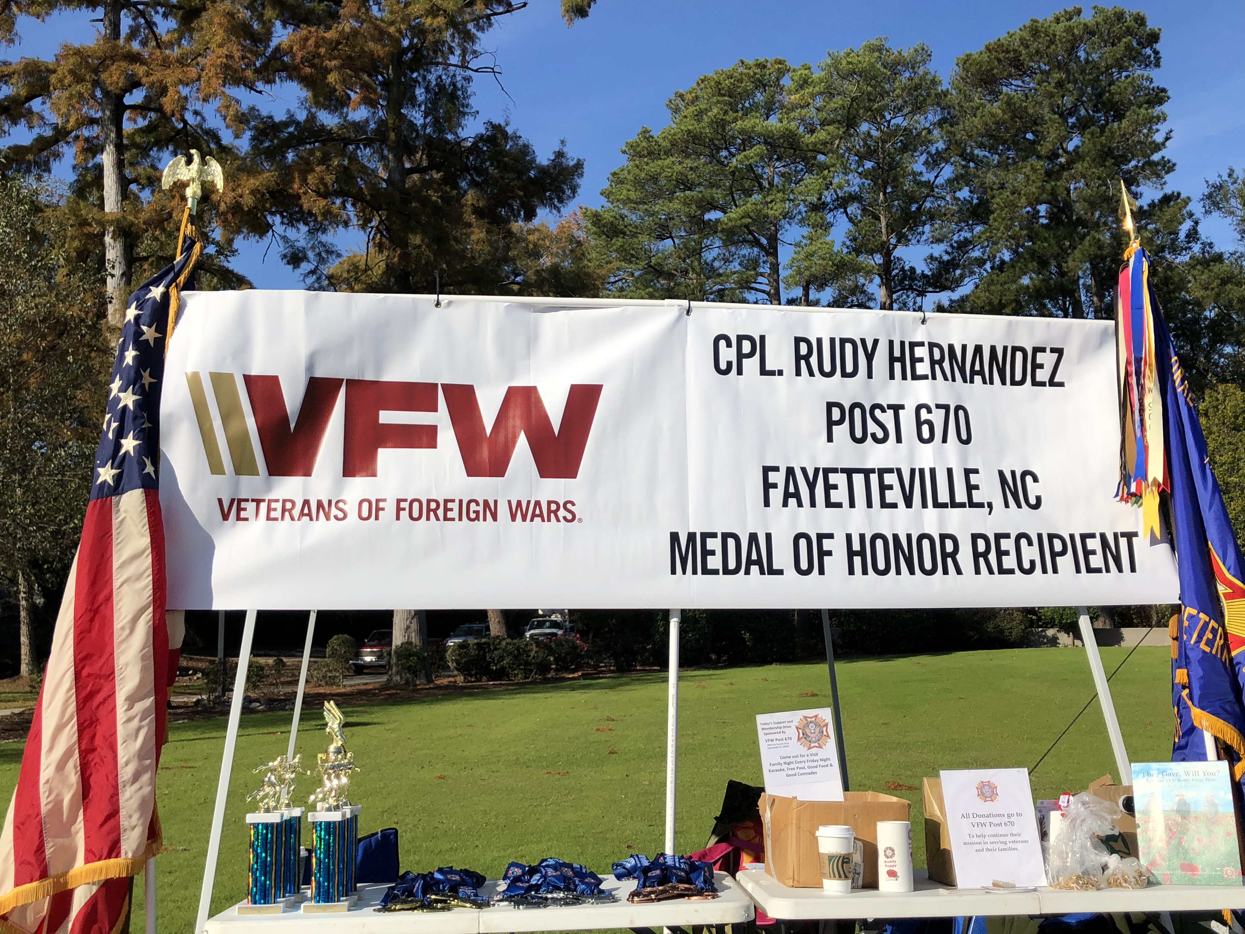 VFW Post 670 Veteran's Day 5k
