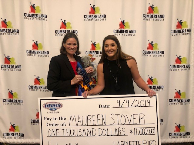 Cumberland Country School's Teacher of the Year