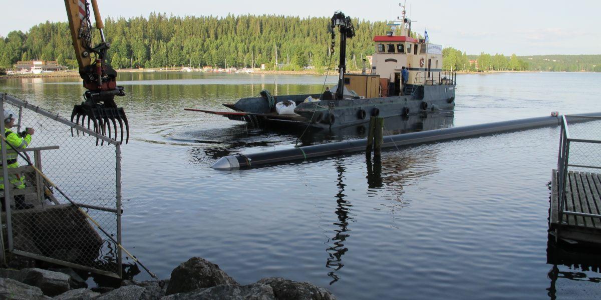 """Vesijärven """"Loch Ness hirviö"""" - Lahti Aqua"""