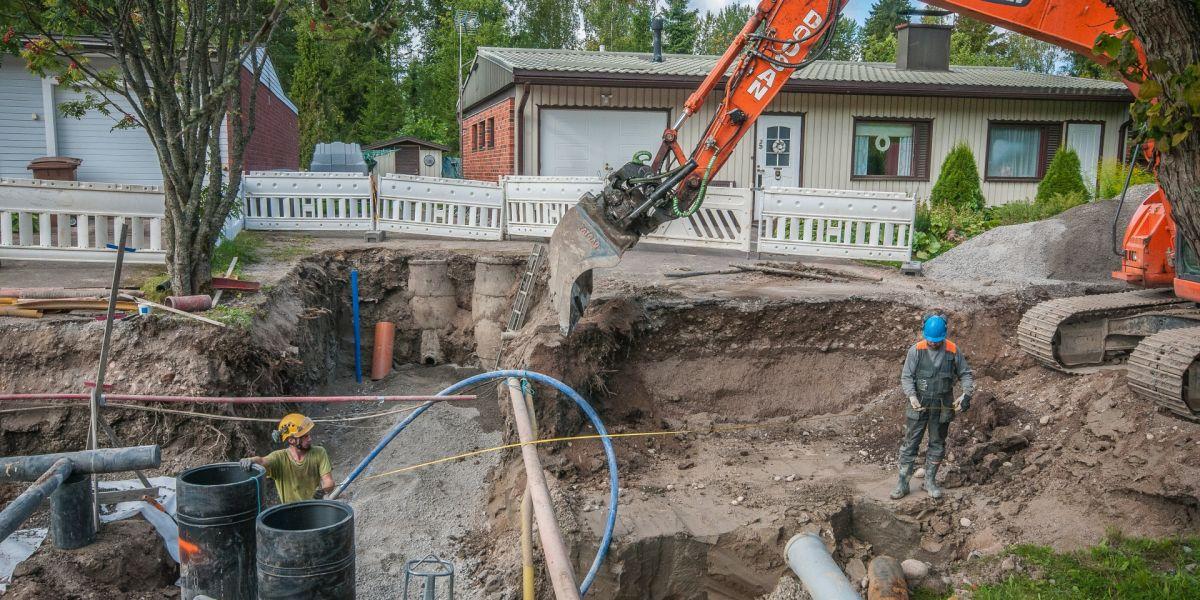 Vanhat tonttijohdot ovat riski kiinteistölle ja ympäristölle - Lahti Aqua
