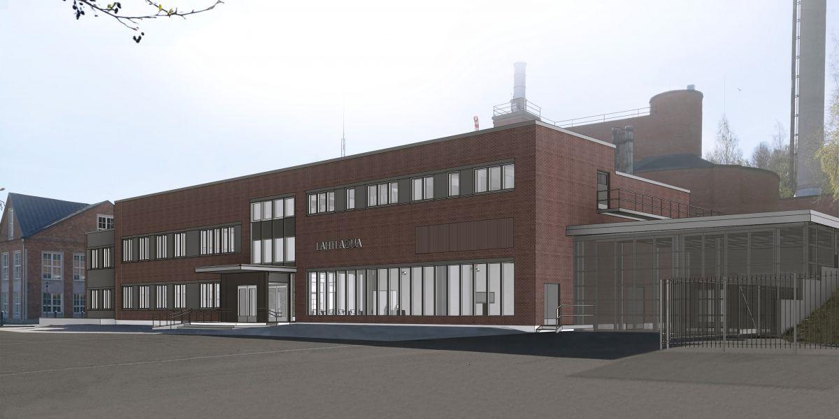 Uudet toimitilamme lämpiävät hukkalämmöllä - Lahti Aqua