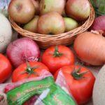 Fresh produce at senior living community