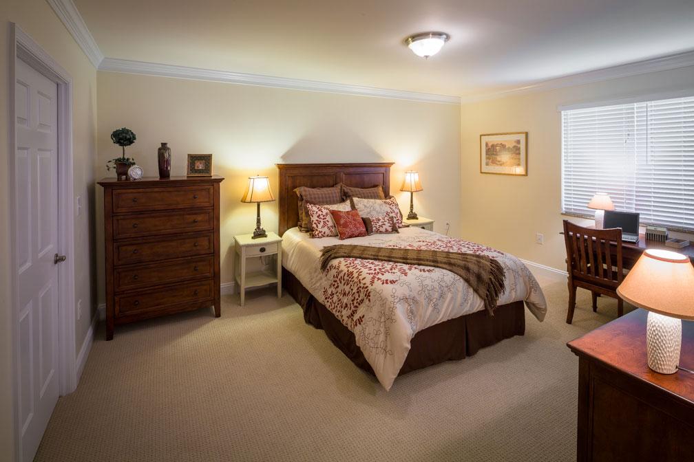 Senior Apartment bedroom view 2