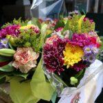 Fresh flower bouquet at Senior Living Community in Richmond, VA