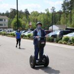 Lakewood Retirement Community residents riding on Segway courtesy of RVA on Wheels.