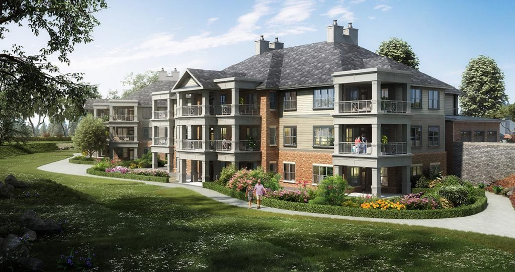 Hybrid exterior view Lakewood Senior Living