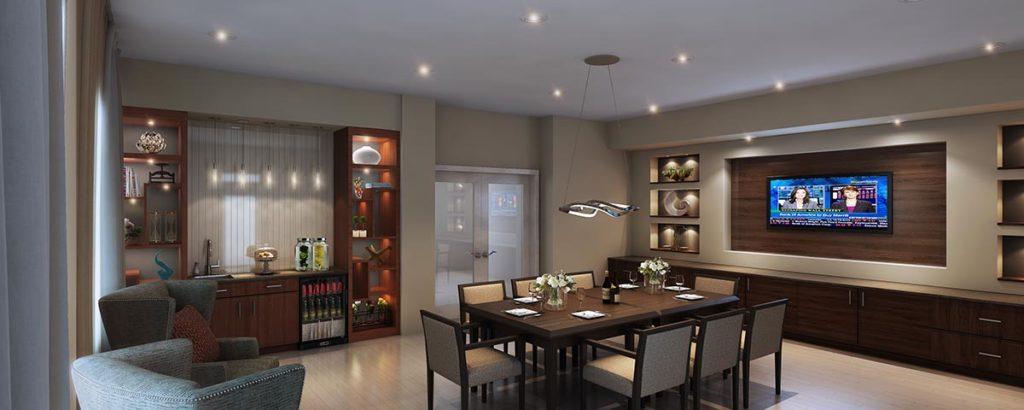 Hybrid dining room