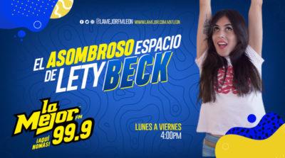 EL ASOMBROSO ESPACIO DE LETY BECK
