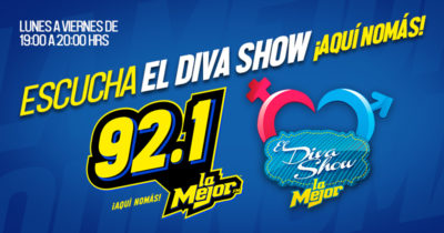 EL DIVA SHOW POR LA MEJOR 92.1 FM