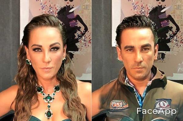 Consuelo Duval Faceapp