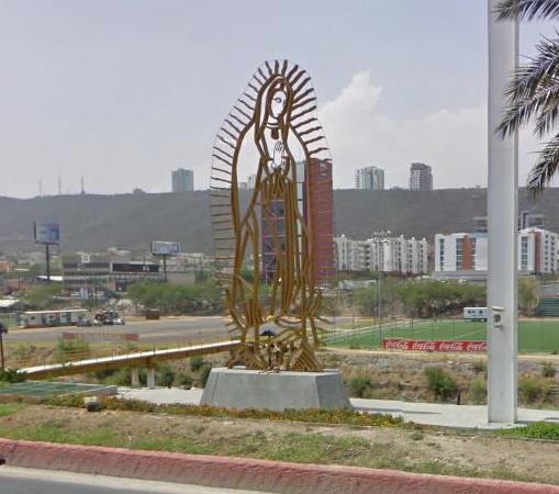 Virgen en Nuevo León