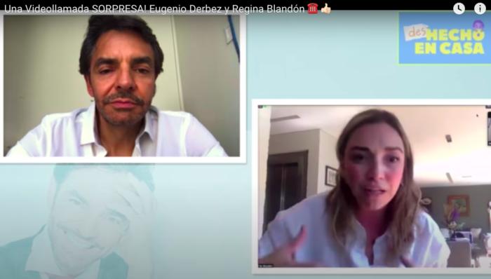 Eugenio Derbez y Regina Blandón