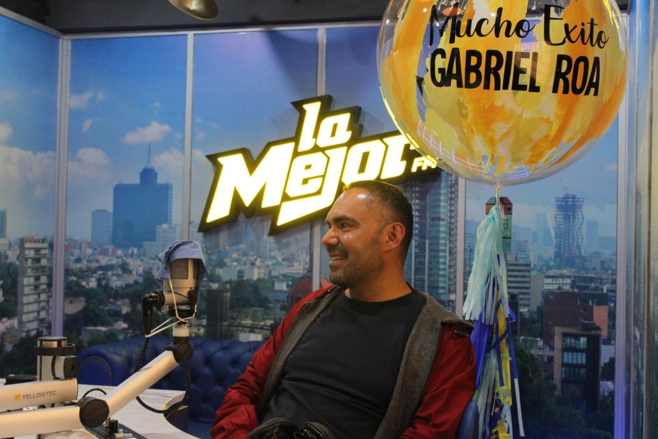 Gabriel Roa en cabina de la mejor