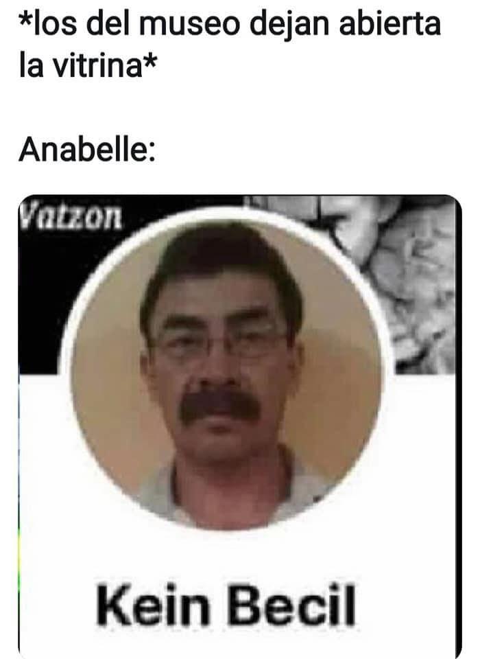 Meme Annabelle