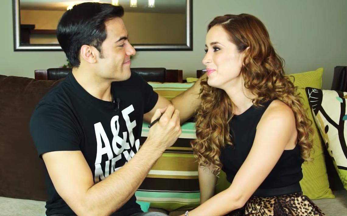 Carlos Rivera y Cynthia Rodriguez
