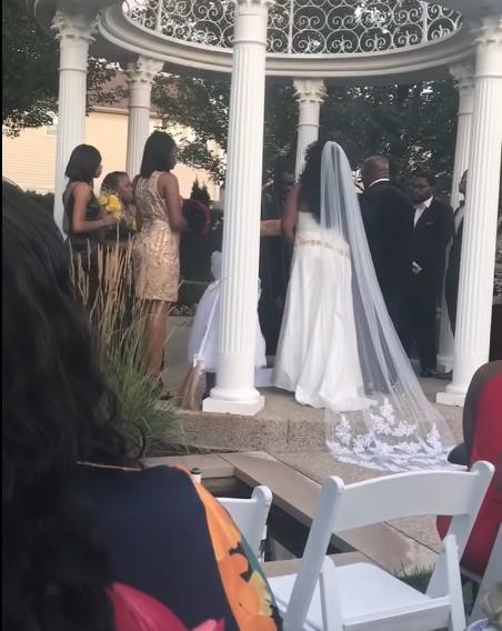amante interrumpe boda