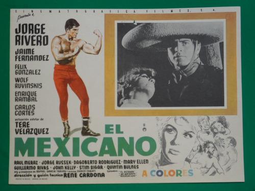 película el mexicano
