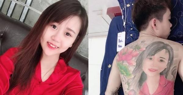 muestra su amor en un tatuaje